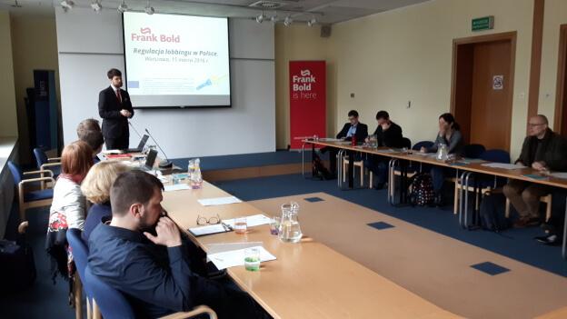Regulacja lobbingu w Polsce – seminarium