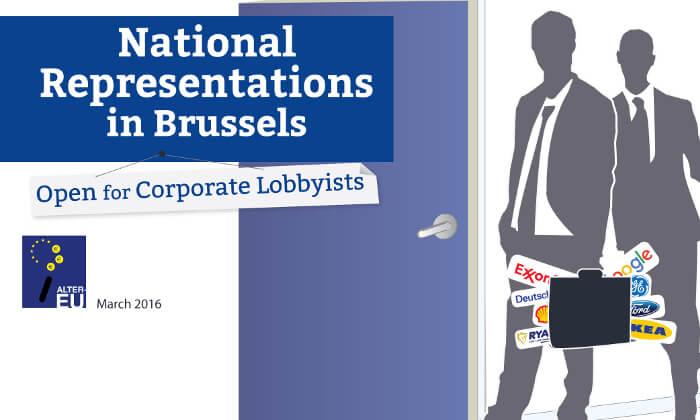 Rządy lobbowane także w Brukseli