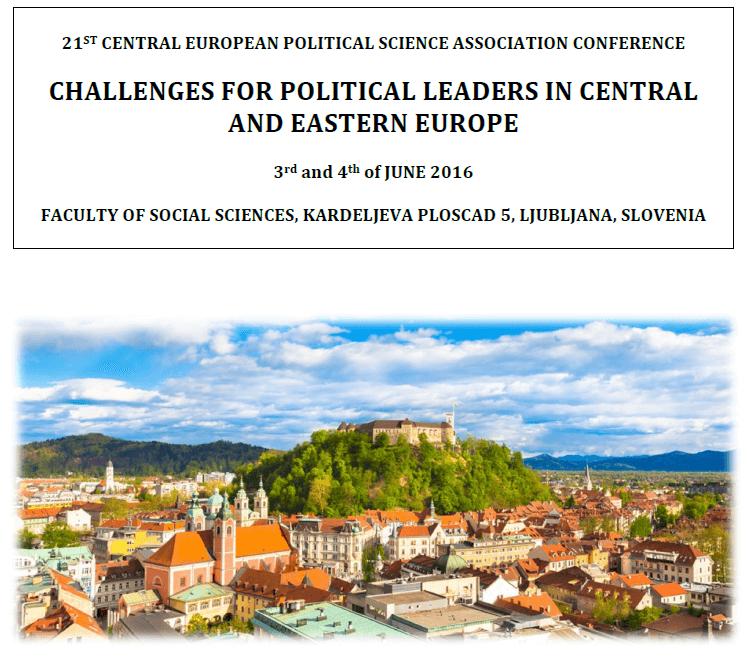 konferencja w Ljubljanie - plakat